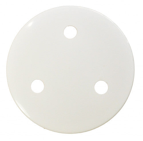 Main Drain Cover - White or Blue (weighted) - Poolshop.com.au - 1