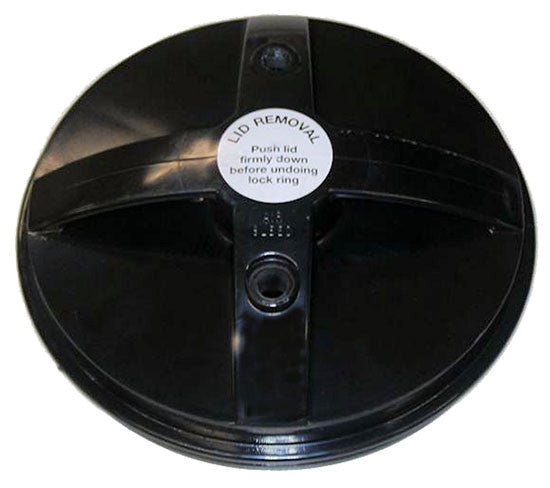 MONARCH CARTRIDGE FILTER LID BLACK - Poolshop.com.au