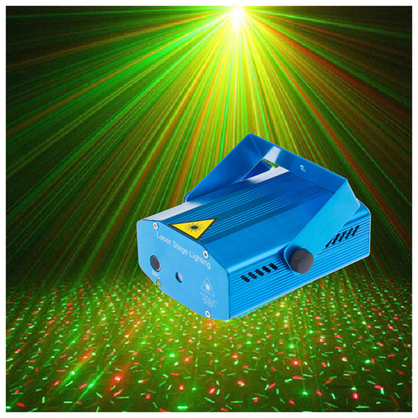 BLACK FRIDAY PROMO - PortableFX Sound-Activated Laser Projector