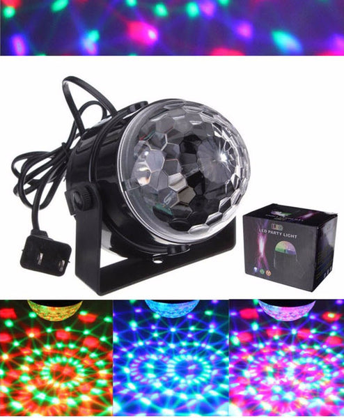 ColorDisco Sound-Activated LED Stage Light