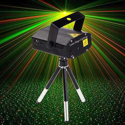 ProFXMini Laser Projector with Sound-Activation & Stroboflash