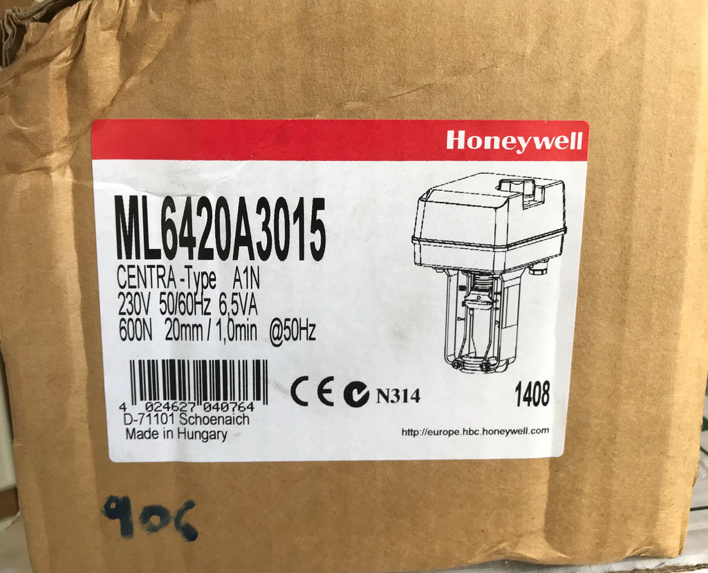 Honeywell Trend ml6420a3015 Actuator 230v #906