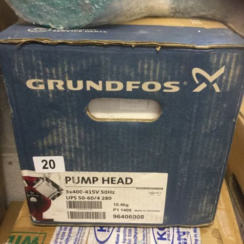 Grundfos UPS/UPSD 50-60/4 Circulator Replacement Pump Head 415V (96406008) #928