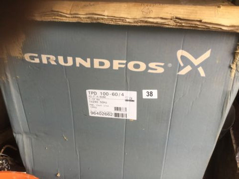 Grundfos TPD 100-60/4 A F A BUBE 1.1kw twin head in line 4 pole 96402662 Pump #38