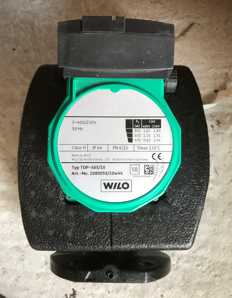 Wilo TOP-S 65/10 3ph 400v/240v circulator pump DN65 2046611 #902