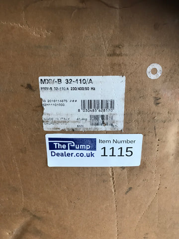 Calpeda MXVB 32-410/A Vertical Multi-Stage In-line Pump 400v 2.2kw #1115