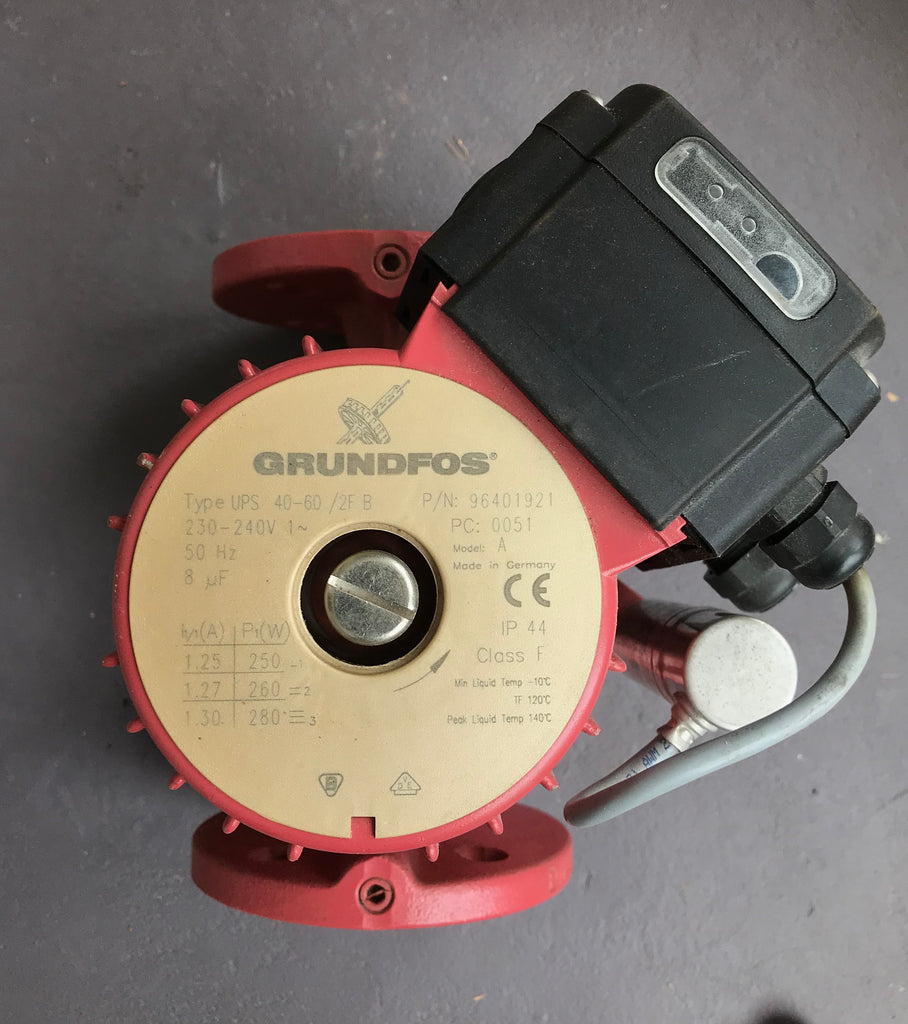 GRUNDFOS UPS 40-60/2 F B 220 MODEL C 240V 96401921 bronze PUMP Heating Circulator #904