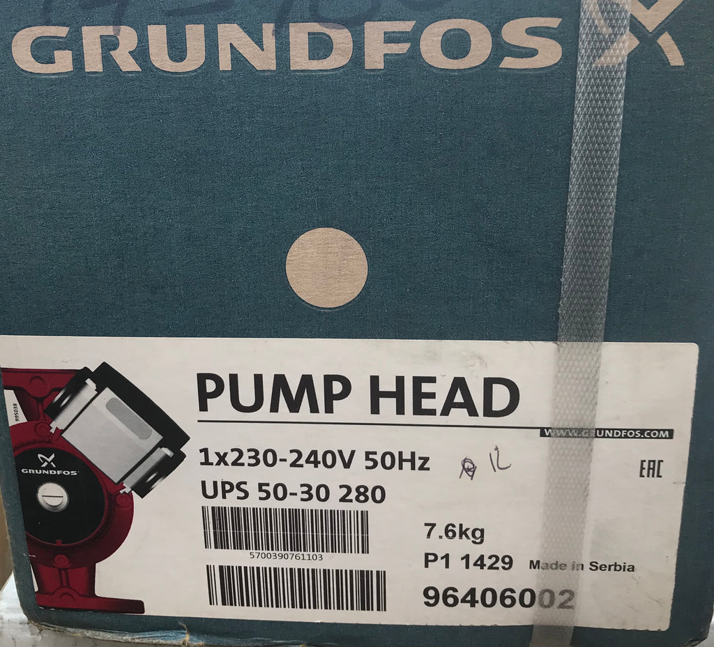 Grundfos UPS/UPSD 50-30 Circulator Replacement Pump Head 230V (96406002) #1584 VAT