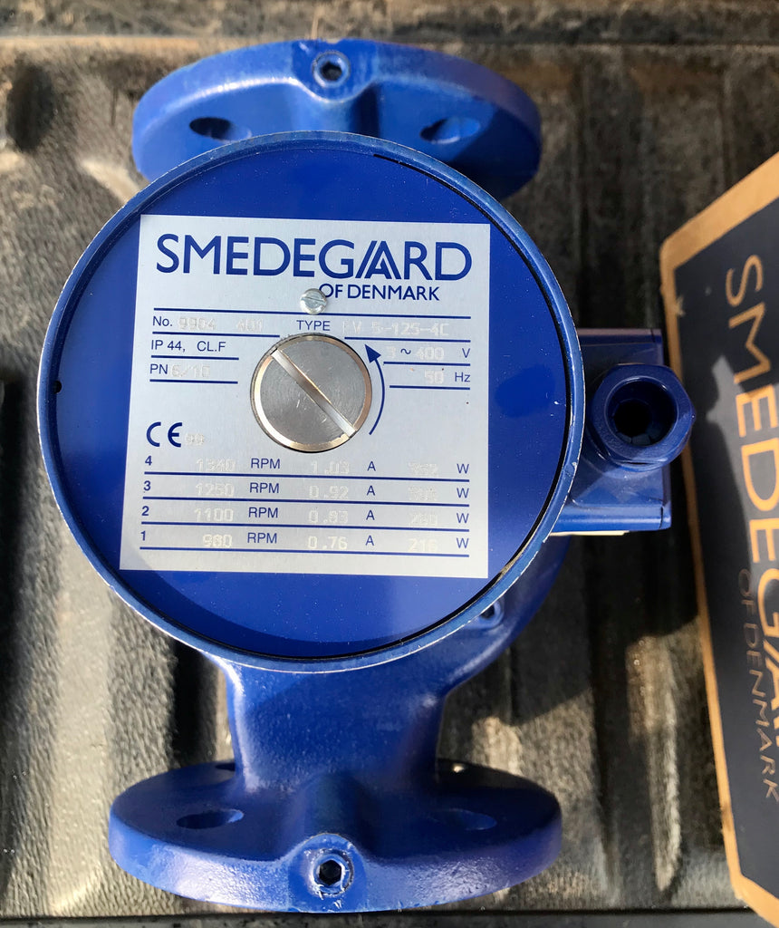Smedegaard EV 5-125-4 C 415v Heating circulation Pump DN50 280mm #1917 VAT
