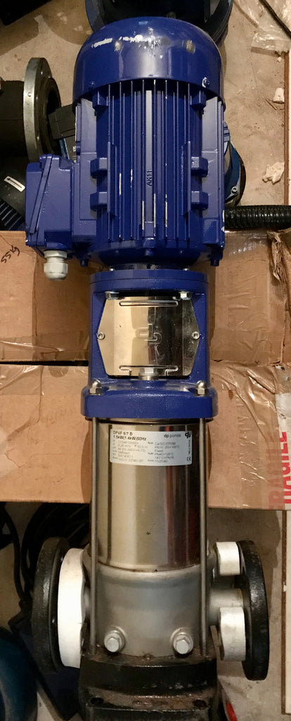 DP Pumps DPVF 6/7 B Vertical Multistage Pump 1.5kw 415v #1872