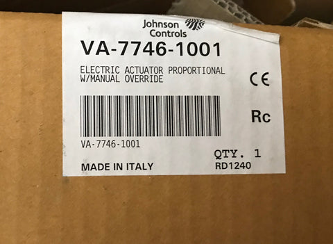 Johnson Controls Linear Actuator VA-7746-1001 #1626 VAT