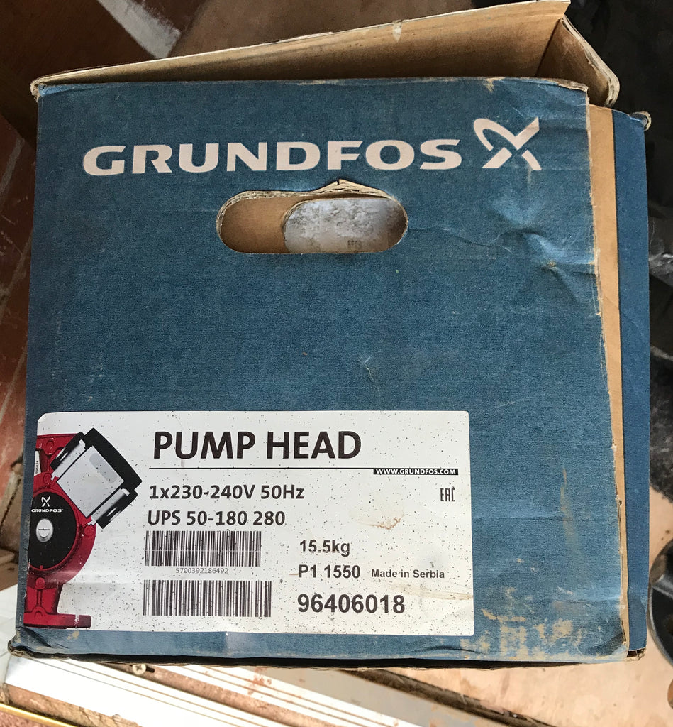 Grundfos UPS/UPSD 50-180 340 Circulator Replacement Pump Head 240V (96406018) #1748