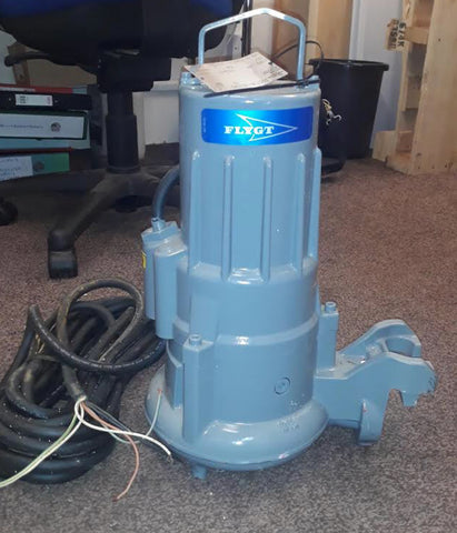 Flygt CP 3057.181 266 HT 1.5kw 240v submersible waste water pump #1640