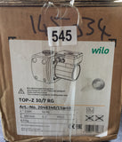 Wilo TOP Z 30/7 RG 2048340 230v Hot Water Circulator Pump Red Brass/bronze