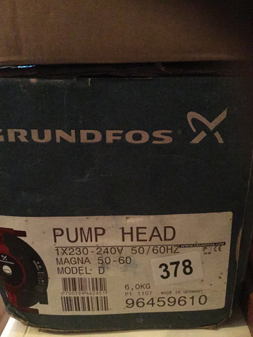 Grundfos MAGNA UPE UPED 50-60 Variable Speed Replacement Pump Head 240V 96459610 #394/424 96441215 96441220