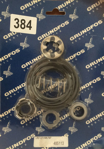 Grundfos Shaft Seal Gasket Kit 485113 16mm O Ring Type (EPDM) AUUE LM/LP/NM/NP #384