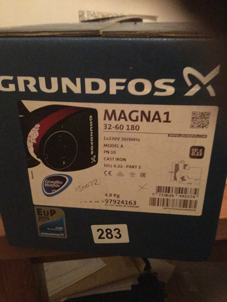 Grundfos Magna1 32-60 1PH Pump Heating Circulator 240v Threaded #283