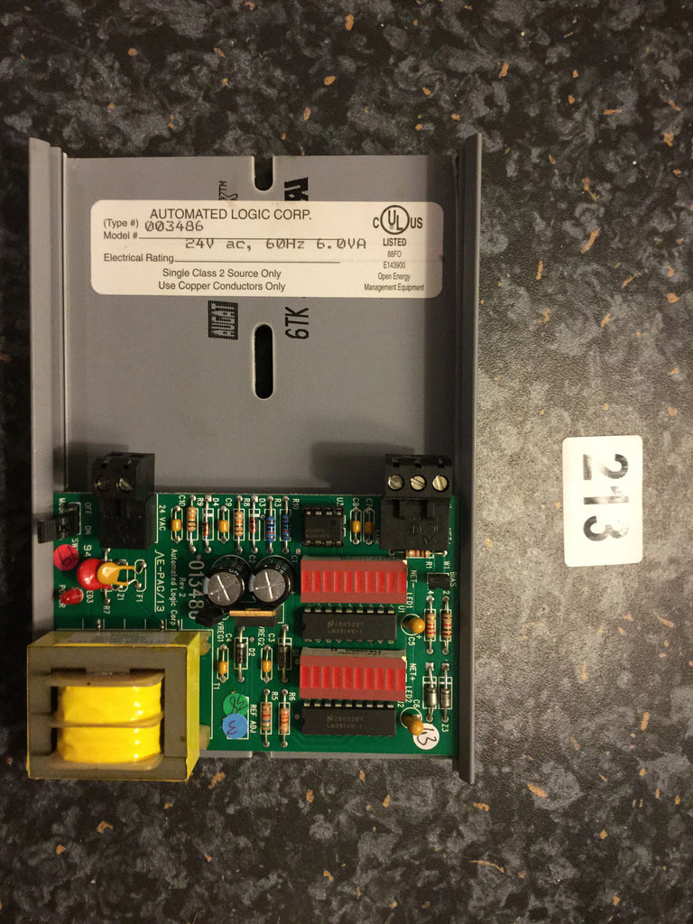 Automated Logic 013486 Diagnostic Device Board Control Module Bacnet HVAC BMS #213