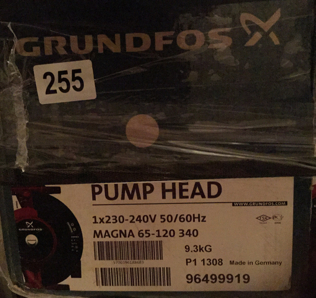 Grundfos MAGNA UPE(D) 65-120 Variable Speed Replacement Pump Head 240V 96499919 #255 96402281