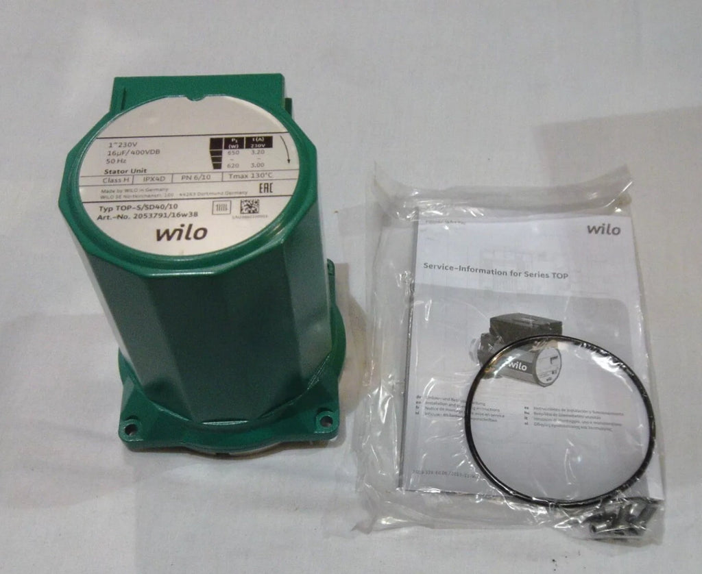 Wilo Replacement Pump Head TOP-S/SD 40/10 EM Kit 2053791 230v #1516