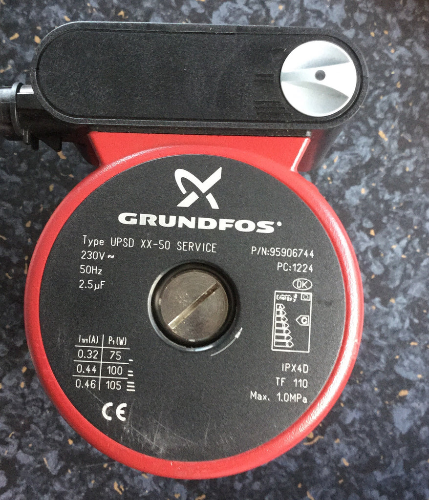 Grundfos UPSD 40-50 F 250 Replacement Head 240v 95906744