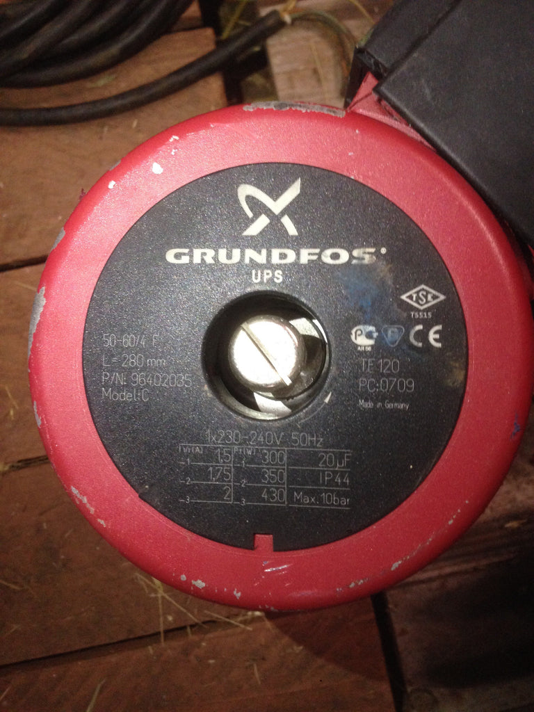 Grundfos UPS/UPSD 50-60/4 Circulator Replacement Pump Head without box 240V (96406005) #414