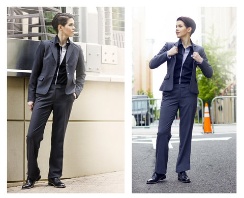 Alex Perry models the Downtown Dappers in black - photography by Gryfeathr photography.