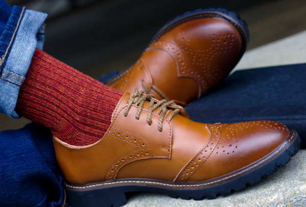 Wearing Socks with Dress Shoes