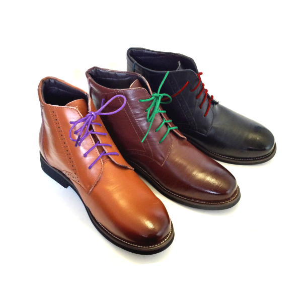 Color Shoelaces for Oxfords and Derbies