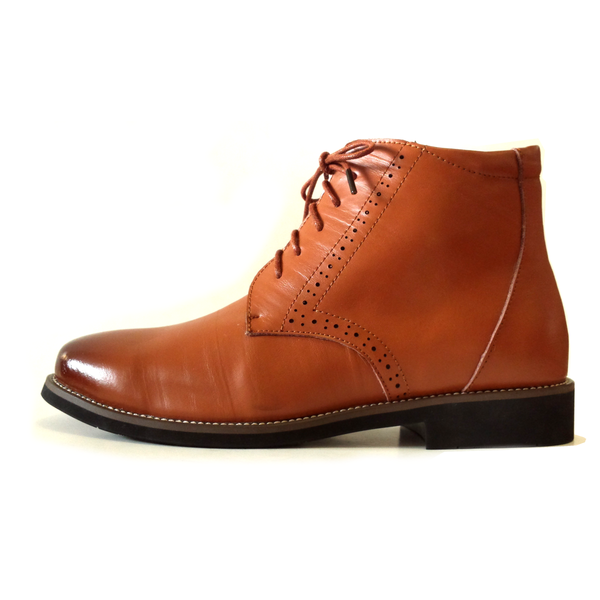 The Barrister's Boots in Light Brown