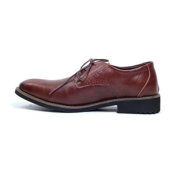 The Downtown Dappers in Dark Brown