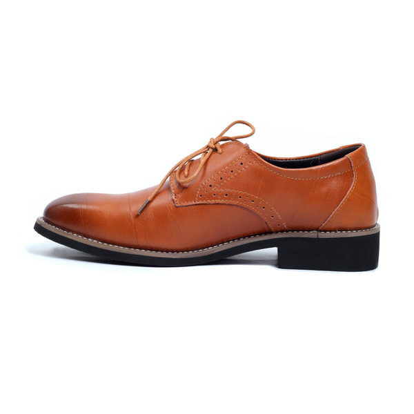 The Downtown Dappers in Light Brown