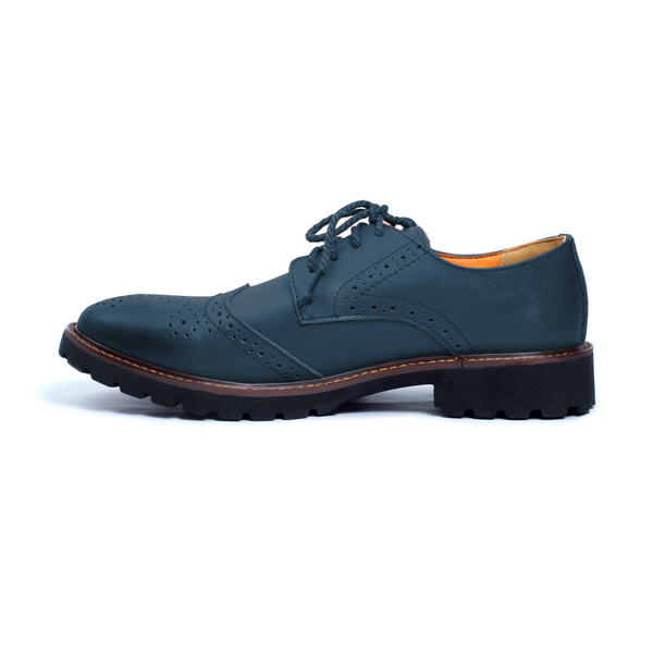 The Roguish Brogue in Blue