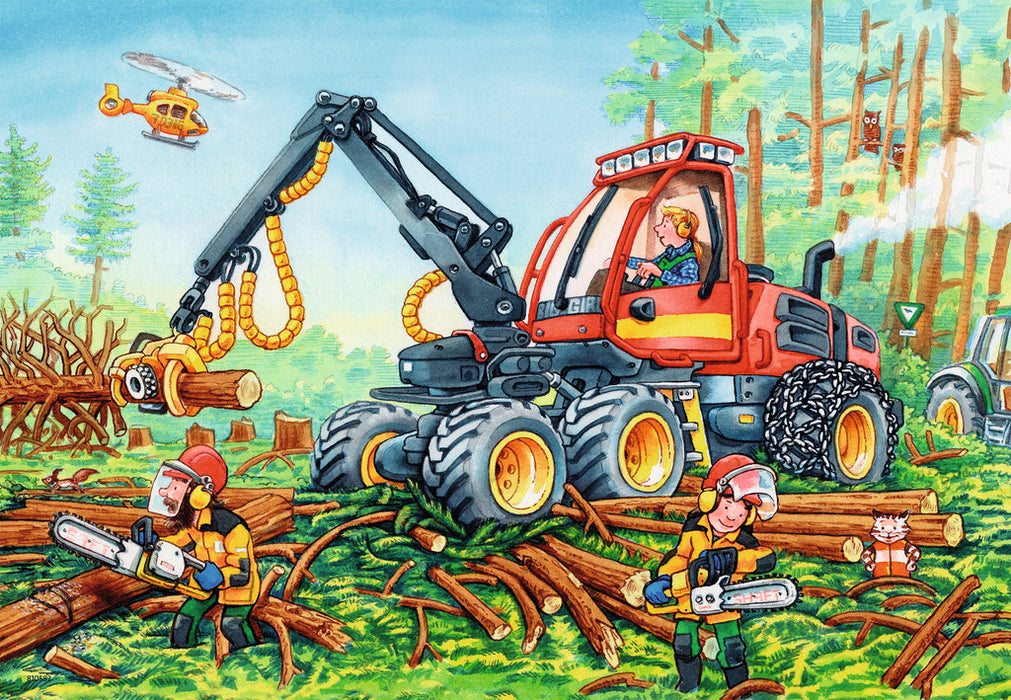 Diggers at Work (2x24 pc)