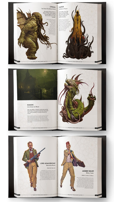 Cthulhu Death May Die: Art Book (Kickstarter Special)