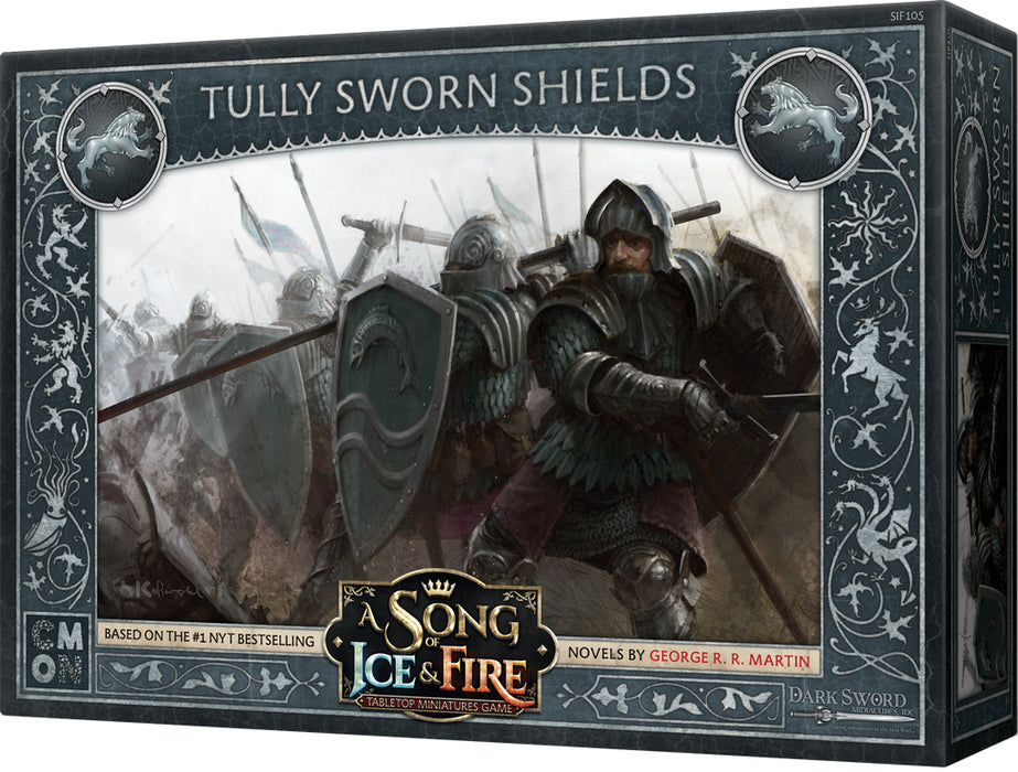 A Song of Ice & Fire Tabletop Miniatures Game: Tully Sworn Shields Unit Box