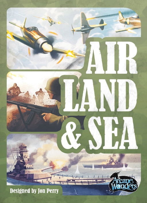 Air, Land & Sea: Revised Edition (Pre-Order)
