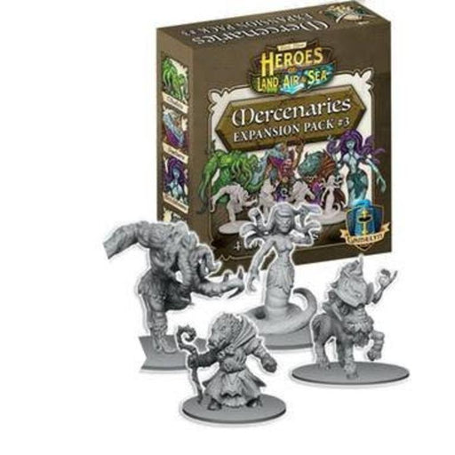 Heroes of Land, Air & Sea: Mercenaries - Pack 3