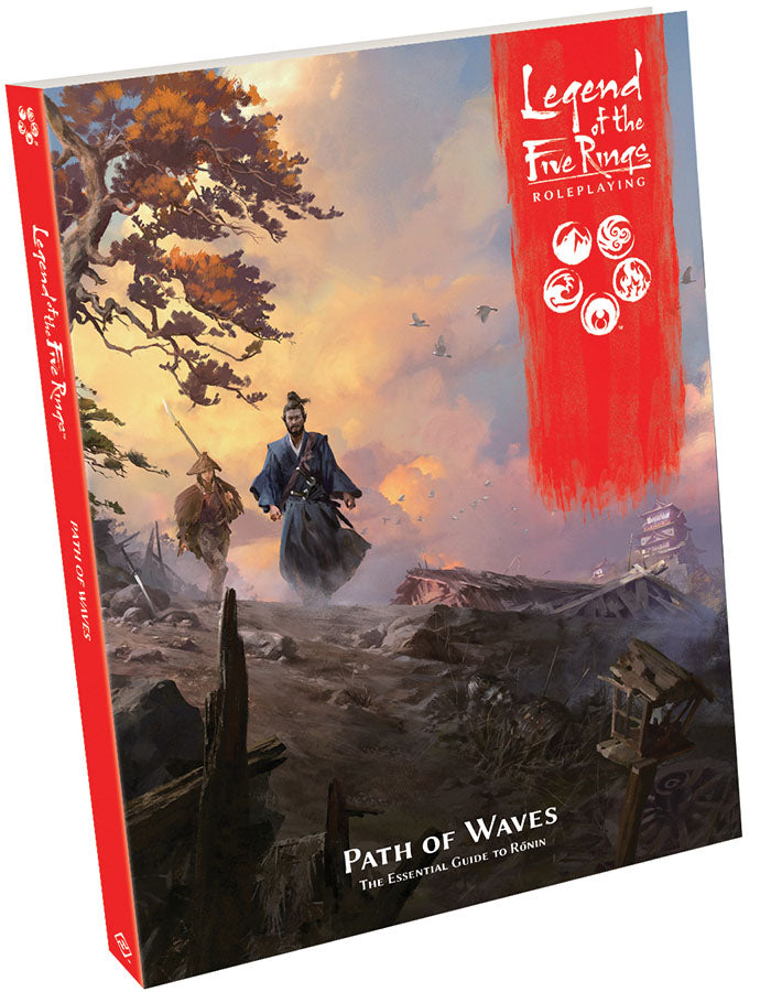 Legend of the Five Rings RPG: Path of Waves Hardcover