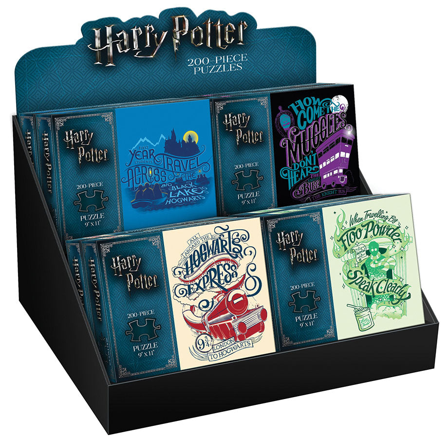 Harry Potter 200 Piece PDQ Tray Puzzle: Floo Powder