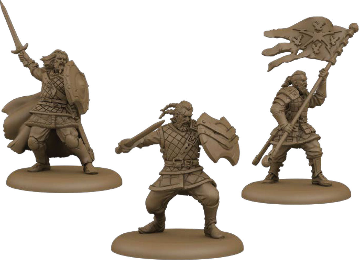 A Song of Ice & Fire Tabletop Miniatures Game: Stormcrow Mercenaries Unit Box