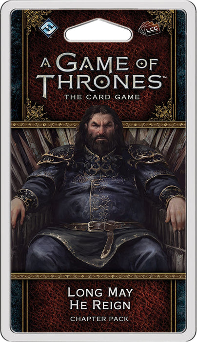"Game Of Thrones (2nd Edition) LCG: ""Long May He Reign"" Chapter Pack"