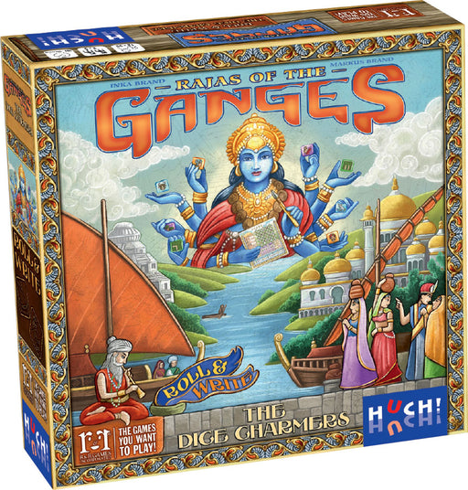 Rajas of the Ganges: The Dice Charmers board game