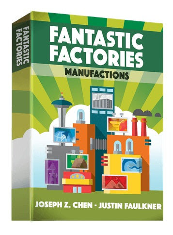 Fantastic Factories: Manufactions Expansion (Pre-Order)