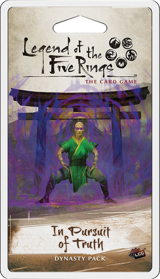 Legend of the Five Rings LCG: In Pursuit of Truth Dynasty Pack (Pre-Order)