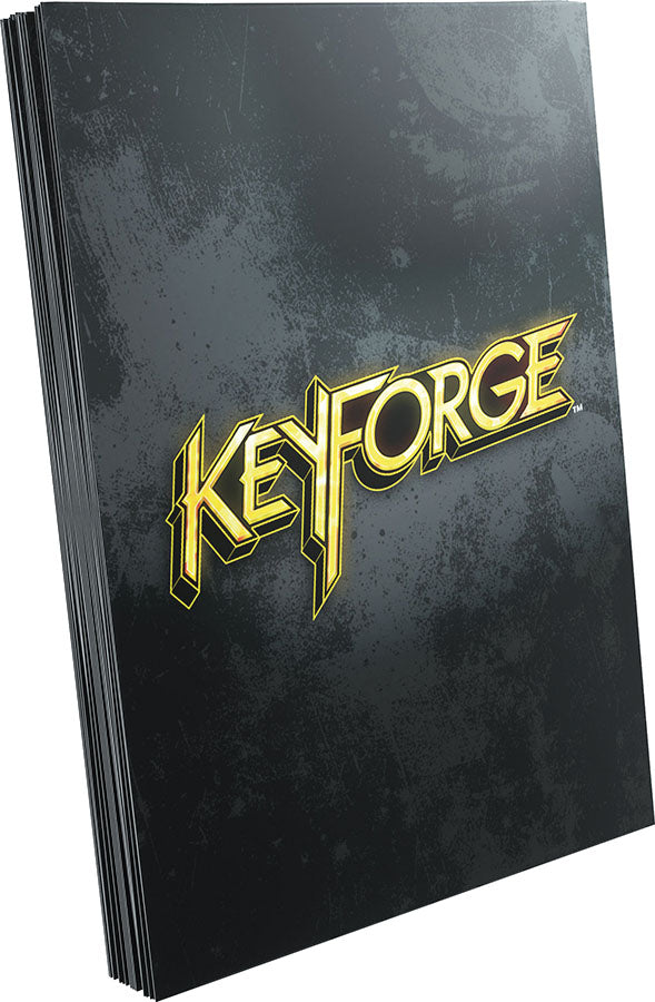 KeyForge: Logo Sleeves - Black (40)