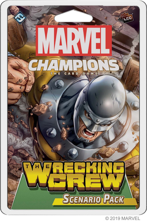 Marvel Champions LCG: The Wrecking Crew Scenario Pack (Pre-Order)
