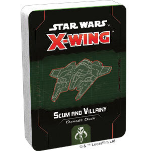 Star Wars X-Wing: 2nd Edition - Scum and Villainy Damage Deck