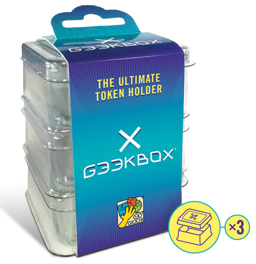 Geekbox Clear Plastic Token Storage Box/Lid (3 pk)