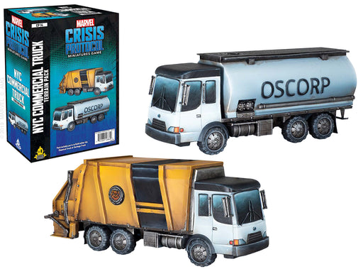 Marvel: Crisis Protocol - NYC Commercial Truck Terrain Pack (Pre-Order)